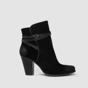 All Saints Shoes - All Saints Victoria Heeled Boots in Black